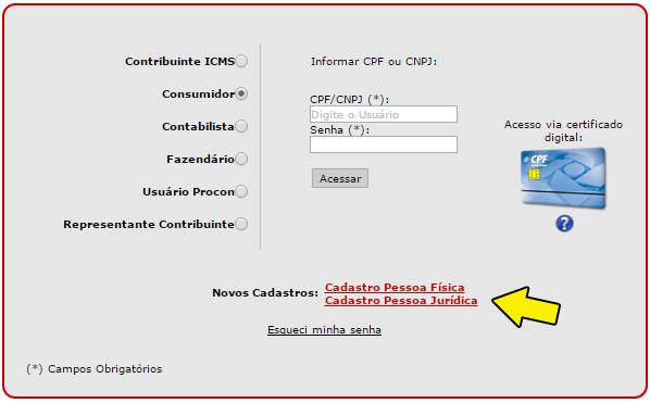 Dados acesso Nota Paulista