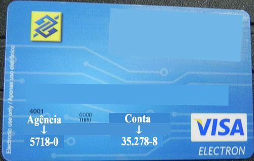 Cartão Banco Brasil