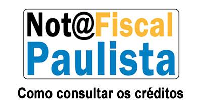 Como consultar o valor dos créditos da Nota Paulista