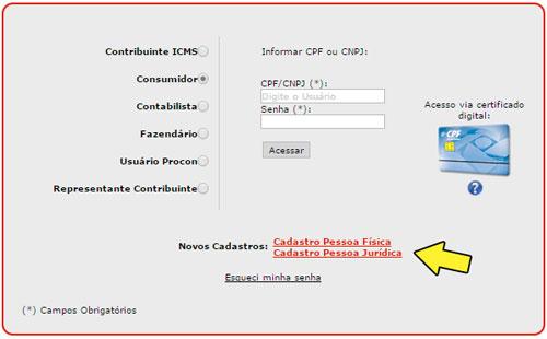 Como fazer cadastro na Nota Fiscal Paulista