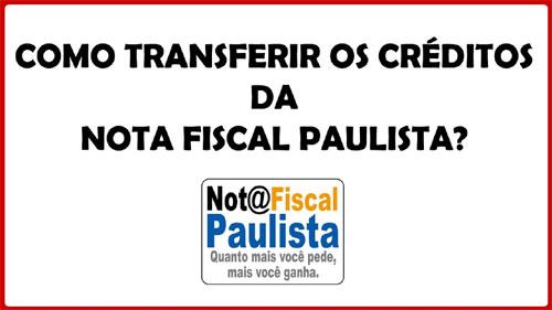 Como transferir dinheiro da Nota Fiscal Paulista para o Santander
